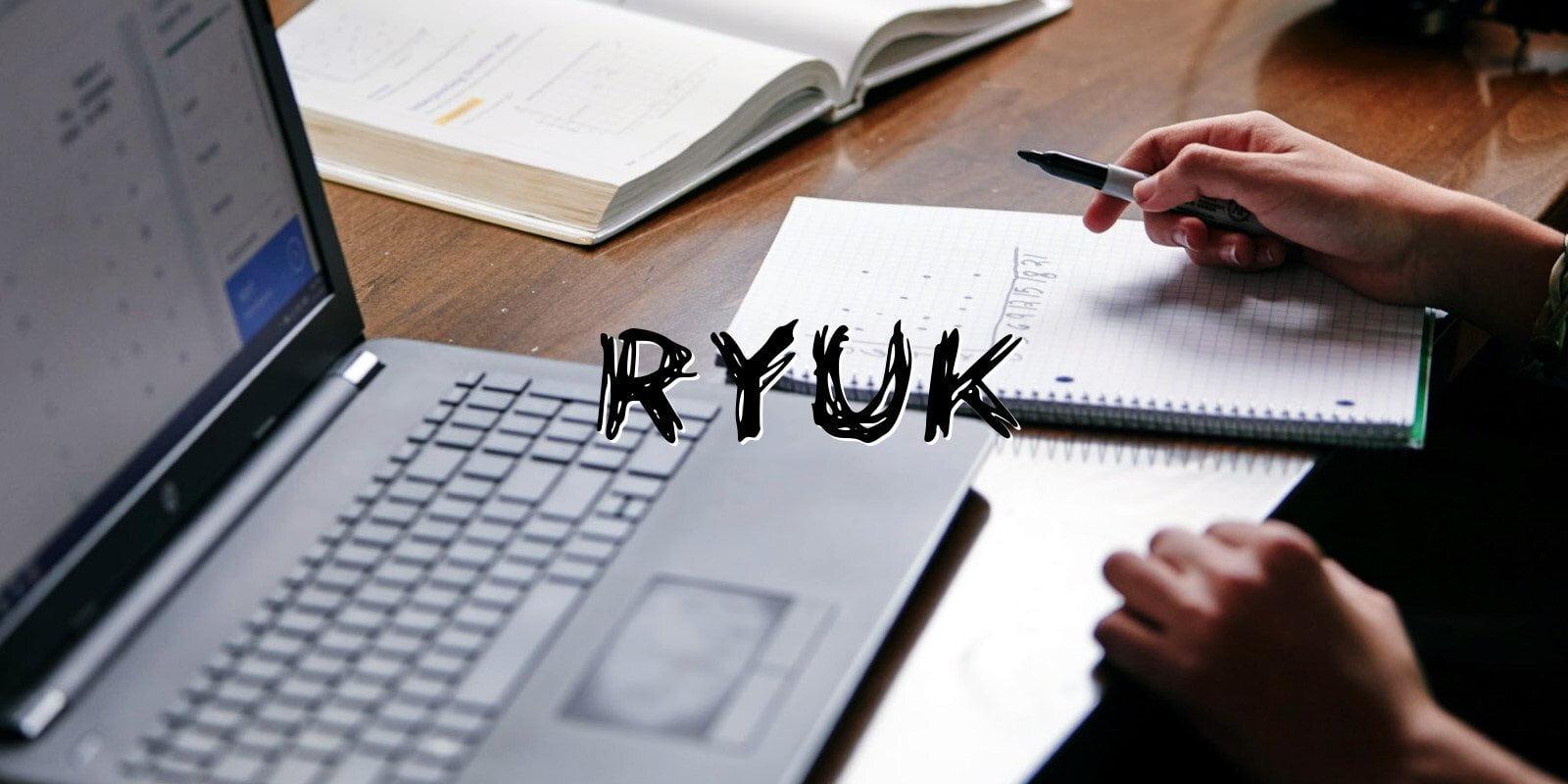 Как защитится от программы‑вымогателя Ryuk