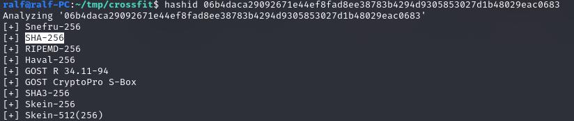 Результат работы hashid   Захват машины сложности Insane с площадки Hack The Box